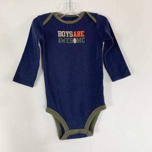 Carters Boys Body Suit Size 6-9M